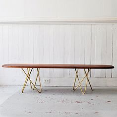 Delta Bench Walnut II, $879, now featured on Fab.
