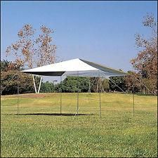12x12 Ft. Northwest Territory Green & White Outdoor Dining Canopy