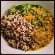 Quinoa & Moong Bean Ayurvedic Vegie Stew Recipe from Wholesome Loving Goodness