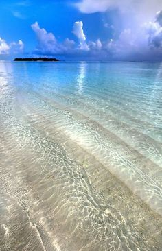 I want to go where the water is the color of glass! Maldives