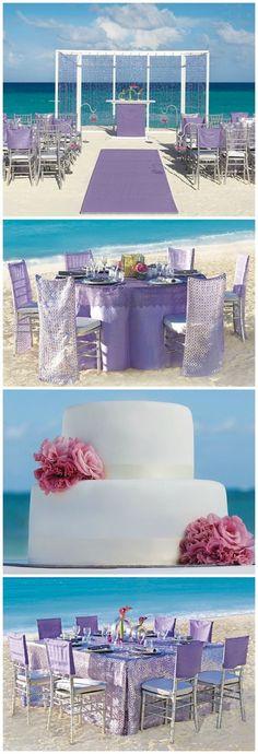 Apple Vacations and Hard Rock Hotels Wedding by Collin Cowie #purplewedding #weddingideas