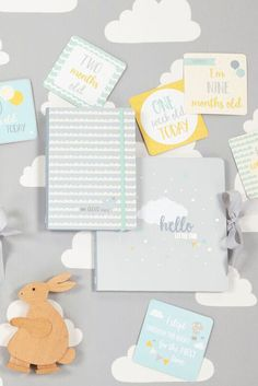New from Baby B at Busy B - including our best selling Pregnancy Journal and NEW Baby Milestone Cards