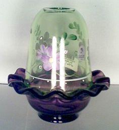 Fenton Green Apple Fairy Light