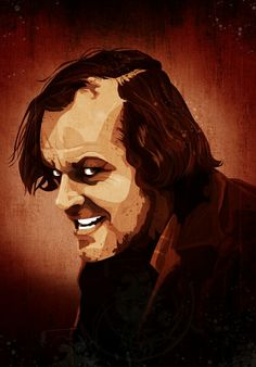 Items similar to The Shining Jack Nicholson on Etsy Horror Movie Characters, Horror Movie Posters, Horror Films, Stephen King Movies, Motorcycle Paint Jobs, Movie Tattoos, Night Gallery, Horror Artwork, King Art