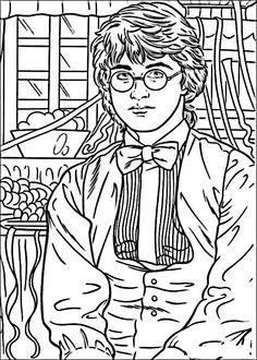Disegni da colorare Harry Potter 42