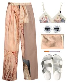 """""""#12"""" by amicahendrikz ❤ liked on Polyvore featuring Acne Studios, 3.1 Phillip Lim, American Rag Cie, Yves Saint Laurent and Moschino Cheap & Chic"""