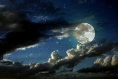 moon in the clouds - Google Search