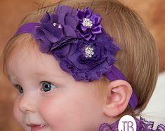 Diadema bebé diademas de bebé cinta de la Navidad por ThinkPinkBows
