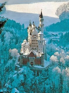 Neuschwanstein castle Bavaria Germany - Explore the World with Travel Nerd Nici, one Country at a Time. http://TravelNerdNici.com