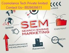 Search engine marketing, or SEM, is one of the most effective ways to grow your business in an increasingly competitive marketplace. If you want search engine marketing agency In Noida and Delhi for your website then you can contact us on 8826636611 or visit at Search Engine Marketing Agency In Noida  Visit at: - https://www.cosmolance.com/search-engine-marketing/