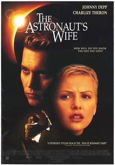 The Astronaut's Wife 1999 Movie Poster 27x40 Used Johnny Depp, Charlize Theron