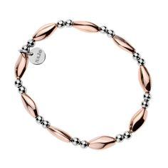 Hipnotic (Rose/Steel)  Bracelet