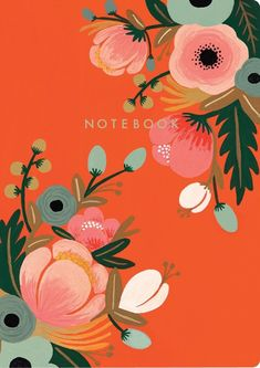 Botanicals Notebook Collection: Rifle Paper Co. Art Floral, Floral Artwork, Motif Floral, Illustration Botanique, Illustration Blume, Guache, Gouache Painting, Floral Illustrations, Watercolor Cards