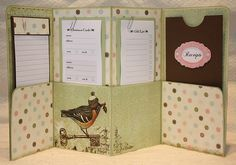file folder holiday planner...also a good idea for budget envelopes