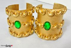 DIy Egyptian Cuffs - Step 9