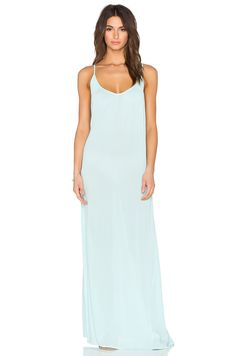 L*SPACE Moonlight Maxi Dress in Seaglass