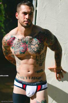 Hot gay guys in tats banging
