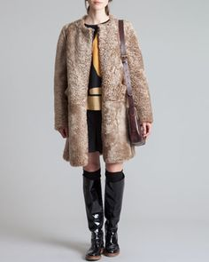 Shearling Coat, Nomad by Marni at Neiman Marcus.