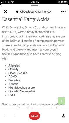 Hemp Protein Powder, Health Practices, Essential Fatty Acids, Smoothies, Beverages, Recipes, Food, Smoothie, Recipies
