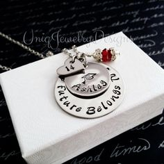 Handstamped Graduation jewelry, high school graduate, college, Inspirational Jewelry, Personalized jewelry