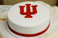 Jake's Indiana University Groom's Cake -- Should recreate for Carter's Cake