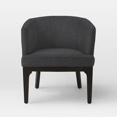 Oliver Chair, Basketweave, Putty Gray