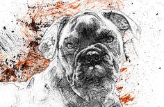 Pes psí hlava Dog Head pohyblivý animovaný obrázek gif animace Animated Scribble zdarma stažení Animation, Dogs, Girls, Toddler Girls, Daughters, Pet Dogs, Maids, Doggies, Animation Movies