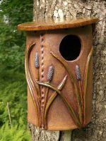 Ceramic Birdhouse Gallery 2
