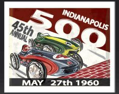indianapolis 500 posters - Google Search