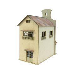 Studio Ghibli `Spirited Away` Strange Town 3 Papercraft Kit 1/150