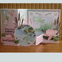 Best 11 Scrapbooking inside – Page 497155246358779538 Z Cards, Step Cards, Easel Cards, Pop Up Cards, Stampin Up Cards, Tri Fold Cards, Fancy Fold Cards, Folded Cards, Interactive Cards