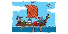 Un casque et un bouclier viking à fabriquer pour se déguiser et en apprendre plus sur ces guerriers.