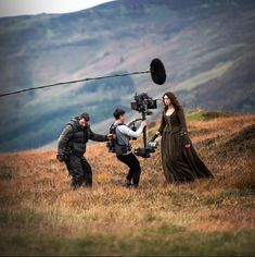 Outlander: Take a look at the best behind the scenes images from Season 2 - THESE stunning images by members of the Outlander production team reveal just how the magic of 18th century Paris have been created in Season 2.