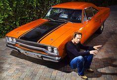 William Fichtner and a beautiful car!