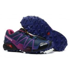 salomon speedcross 3 schwarz orange mujer