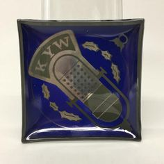 Vintage Glass Souvenir Advertising Ashtray KYW Philadelphia Am Radio | eBay