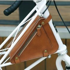 Bicycle Leather Bag