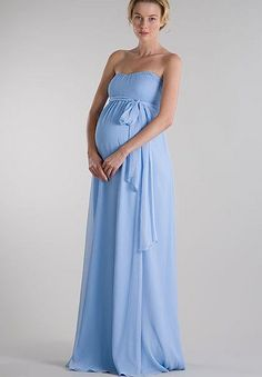 long maternity bridesmaid dress. Super cute plus a little jacket