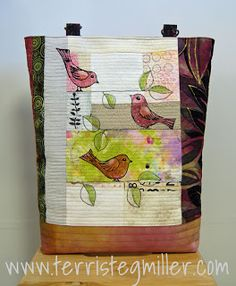 Terri Stegmiller Art Quilts: Custom Work and a Journal Spread