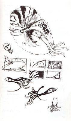 Studio 1482 Illustration & Design   Chambered Nautilus © Eddie Peña #studio1482 #illustration #design #art #drawing #reportage