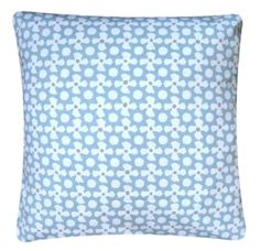 """Cushion Cover Made With Reef Surf Nautical Clarke and Clarke Fabric 16"""" Maritime"""