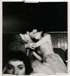 Weegee (Arthur Fellig), Lovers at the Movies [detail], ca. 1940