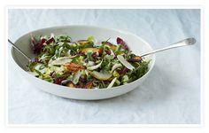 Winter Greens, Kabocha Squash & Peeled Pear Salad | goop.com