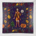 Autumn Faerie Trinket Trays #halloween #happyhalloween #halloweenparty #halloweenmakeup #halloweencostume