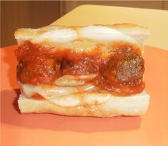 Meatball recipe for subs or spaghetti * I made these and they are sooo yummy