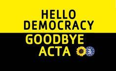 Adiós a ACTA, de momento - La Verdad Oculta