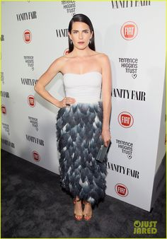 Evan Peters & His Many Co-Stars Hit Vanity Fair Young Hollywood Party