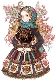 Rusalka by Maggi