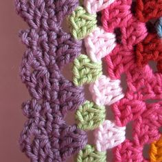 Knot Your Nana's Crochet: 10 Ways To Get The Perfect Finish On Your Crochet Afghan    ❥Teresa Restegui www.pinterest.com... ❥