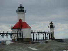 St. Joseph, Michigan Lighthouse (1907) by SpeedyJR, via Flickr